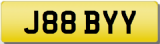 BOBBY J Private Cherished Registration Number Plate   BOBBY BOBBI BOB